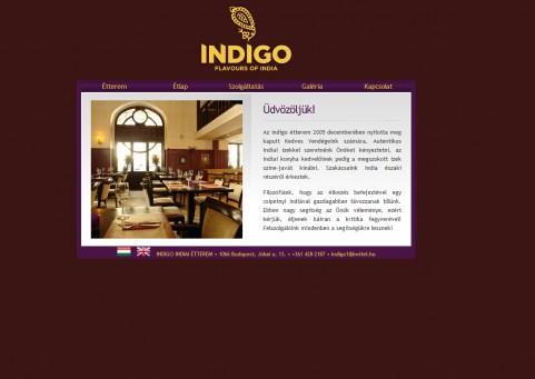 SpaceboyDesign – Indigo honlapkészítés referencia