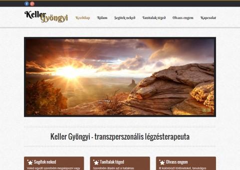 SpaceboyDesign – Keller Gyöngyi honlapkészítés referencia