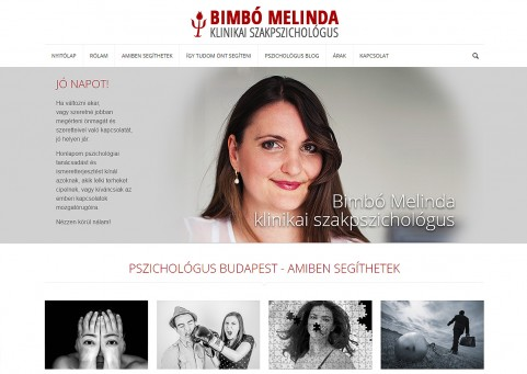 Bimbó Melinda pszichológus
