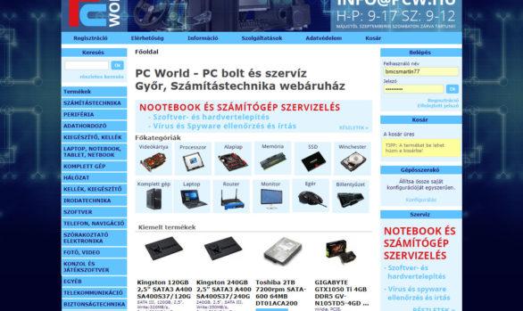 PCW - PC bolt Győr